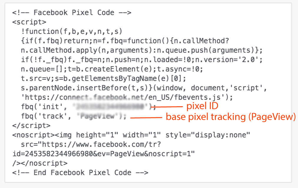Facebook Base Pixel