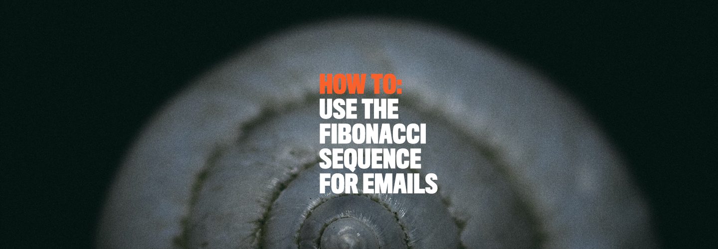 Fibonacci sequence for emails
