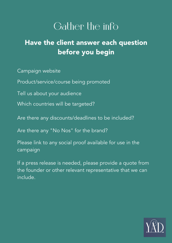 Questions to help write ad copy that converts